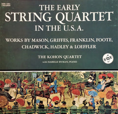 Çeşitli Sanatçılar / The Early String Quartet in the U.S.A., 3 LP Box
