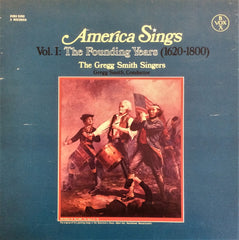 Çeşitli Sanatçılar / America Sings Vol: 1 The Founding Years (1620-1800), 3 LP Box