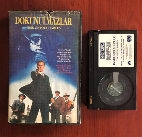 Untouchables, The, Betamax Kaset