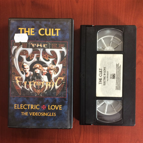 Cult, The / Electric Love - The Videosingles, VHS Kaset