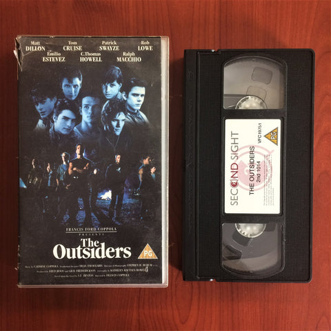 Outsiders, The, VHS Kaset