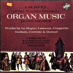 Çeşitli Sanatçılar / A Survey of the World's Greatest Organ Music (France), Volume II, 3 LP Box