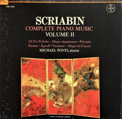Alexander Scriabin / Complete Piano Music Volume II, 3 LP Box