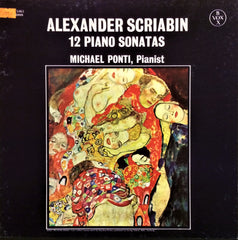 Alexander Scriabin / 12 Piano Sonatas, 3 LP Box