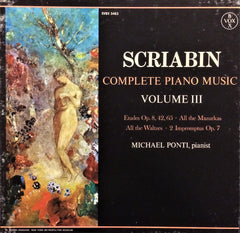 Alexander Scriabin / Complete Piano Music Volume III, 3 LP Box