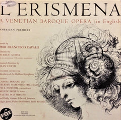 Francesco Cavalli / L'Erismena (A Venetian Baroque Opera in English), 3 LP Box