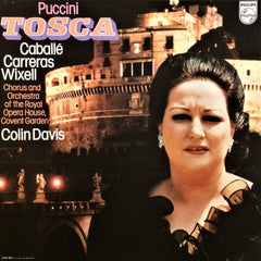 Puccini, Jose Carreras / Tosca, 2 LP Box