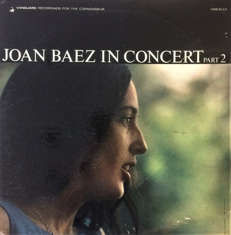 Joan Baez / Joan Baez in Concert Part 2, LP