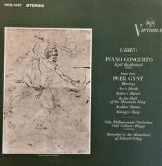 Grieg / Piano Concerto, Musics from Peer Gynt, LP