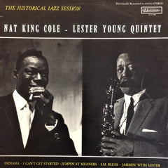 Nat King Cole - Lester Young Quintet / The Historical Jazz Session, LP
