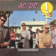 AC/DC / Dirty Deeds Done Dirt Cheap, LP