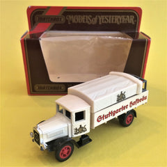 Matchbox, 1932 Mercedes Benz Y6 L5 Lorry, Model Araba