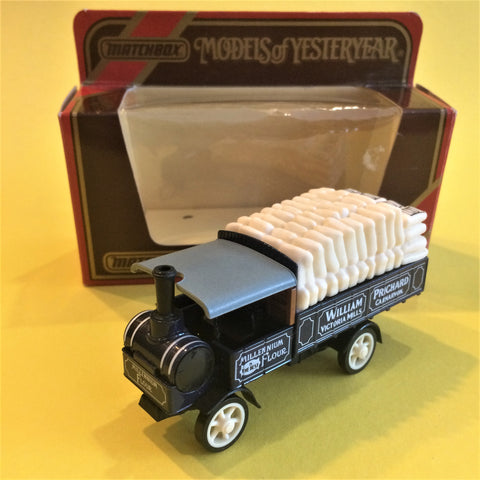 Matchbox, 1917 Yorkshire Steam Wagon Y8, Model Araba