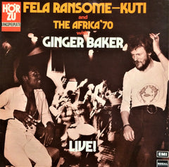 Fela Ransome-Kuti and Africa '70 with Ginger Baker ‎/ Live!, LP