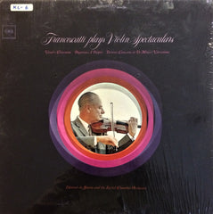 Francescelli / Plays Violin Spectaculars, LP