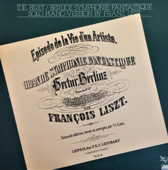 İdil Biret / Berlioz Symphonie Fantastique, Solo Piano Version by Franz Liszt, LP
