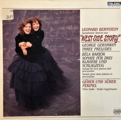 Güher ve Süher Pekinel / West Side Story, Gershwin's Three Preludes & Bartok, LP