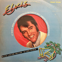 Elvis Presley ‎/ It Won't Seem Like Christmas (Without You), 12'' Single