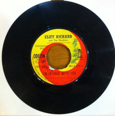Cliff Richard, I'm in Love With You / I Could Easily Fall, 45'lik