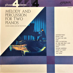 Ronnie Aldrich and his Two Pianos / Melody Percussion for Two Pianos, LP