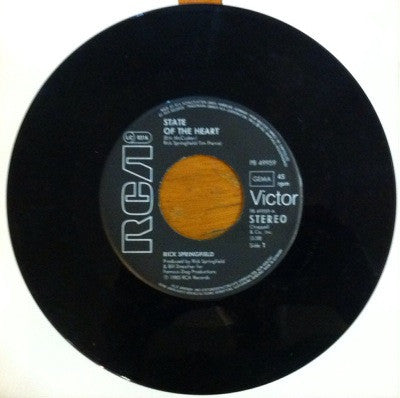 Rick Springfield, State of the Heart / The Power of Love, 45'lik