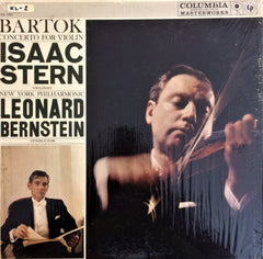 Isaac Stern / Bartok, Concerto for Violin, LP