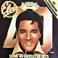 Elvis Presley / 40 Greatest Hits, LP