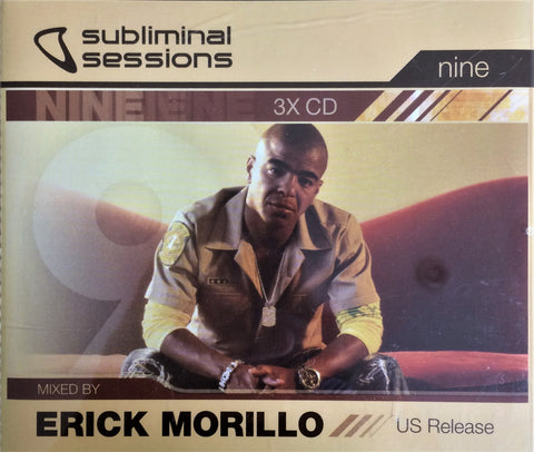 Erick Morillo / Subliminal Sessions Nine, 3 CD Box Set