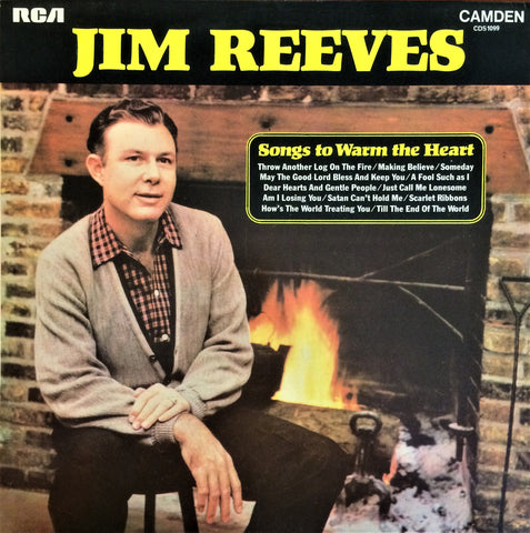 Jim Reeves / Songs to Warm the Heart, LP