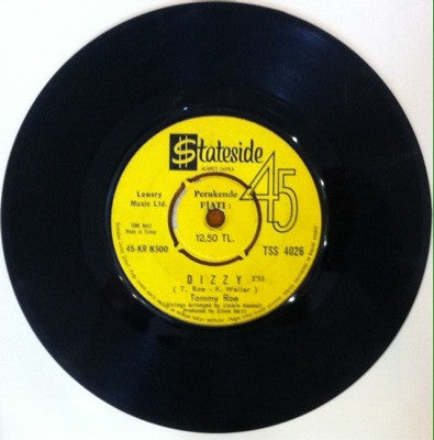 Tommy Roe, Dizzy / The You I Need, 45'lik