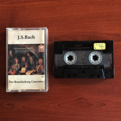 Bach / The Brandenburg Concertos 2, Kaset