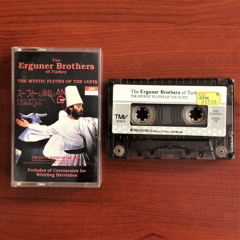 Erguner Brother of Turkey / The Mystic Flutes of the Sufis, Kaset