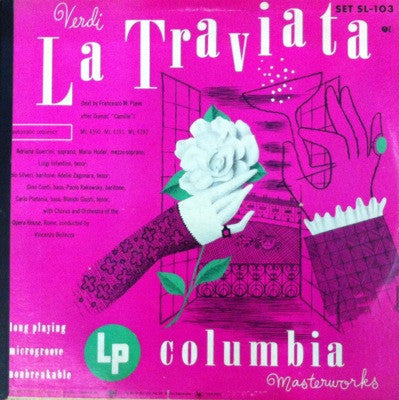 Verdi / La Traviata, 3 LP