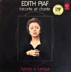 Edith Piaf / Raconte et Chante - Hymne a L'amour, LP