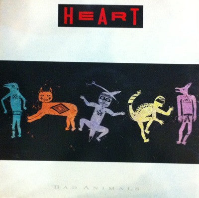 Heart / Bad Animals, LP