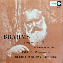 Brahms / Symphony No.4 in E Minor Op. 98, LP