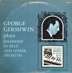 George Gershwin / Plays Rhapsody in Blue and Other Favorites, LP