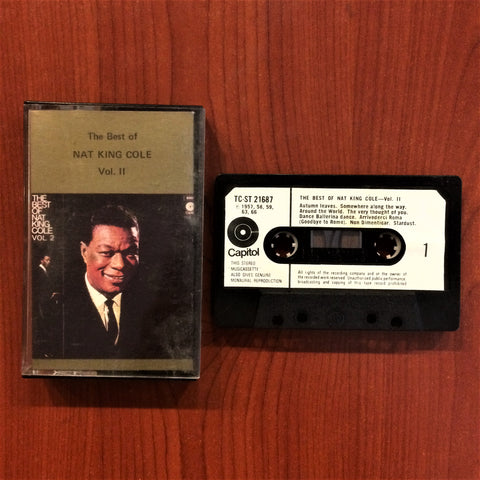 Nat King Cole / Greatest Hits  Vol. II, Kaset
