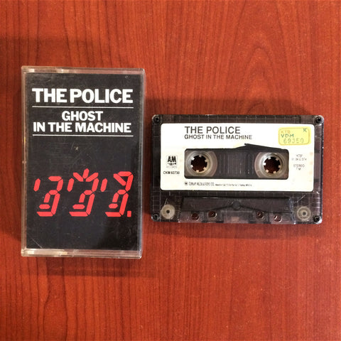 Police, The / Ghost in the Machine, Kaset