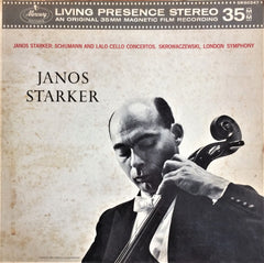 Janos Starker / Schumann and Lalo Cello Concertos, LP