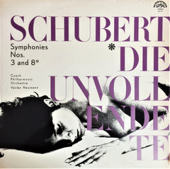 "Schubert / Symphonies No. 3 & No. 8 ""Unfinished"", LP"