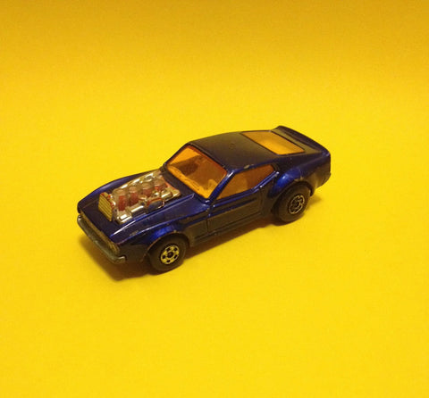 Matchbox, Mustang Piston Popper, Model Araba