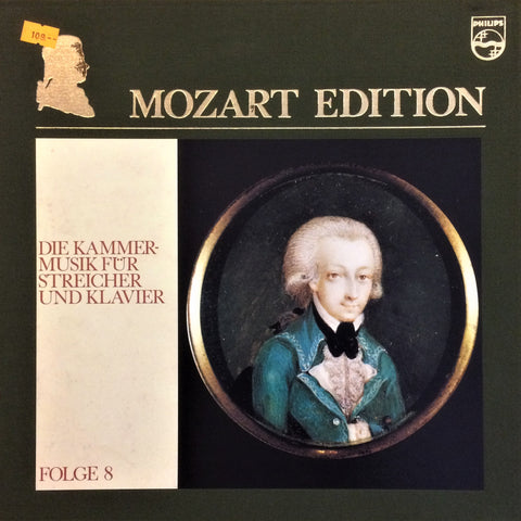Mozart / The Chamber Music For Strings and Keyboard, 12 LP Box