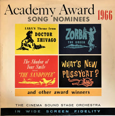 Cinema Sound Stage Orchestra / Academy Awards Song Nominies 1966, LP