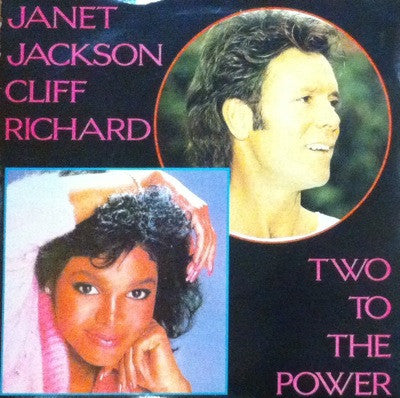 Janet Jackson & Cliff Richards, Two to the Power of Love / Rock 'n' Roll, 45'lik