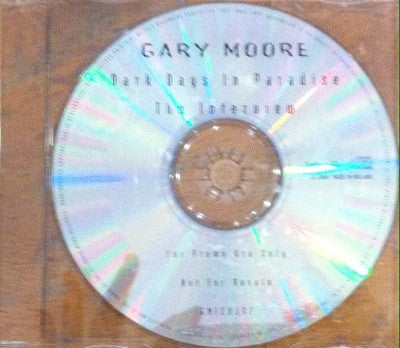 Gary Moore / Dark Days in Paradise, interview CD