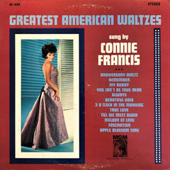 Connie Francis / Great American Waltzes, LP