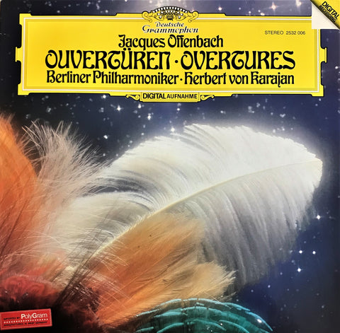 Offenbach / Overtures, LP