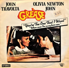 John Travolta & Olivia Newton-John, You're the One That I Want / Whenever I'm Away From You, 45'lik