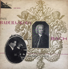 Paul Badura-Skoda plays Bach / Partitas Vol.III, LP